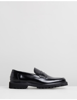 Busan Leather Loafers by Double Oak Mills