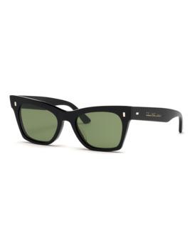 Acetate Cat Eye Sunglasses by Celine