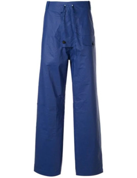 Drawstring Waist Trousers by Walter Van Beirendonck Pre Owned