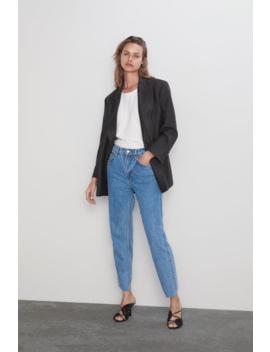 Jeans Zw Premium The Slim Straight Denim Dresses Dresses Woman by Zara