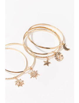 Charm Bangle Bracelet Set by Forever 21