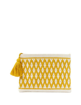 Geo Crochet Clutch by Forever 21