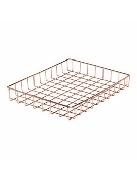 Wilko In Tray Rose Gold Wilko In Tray Rose Gold by Wilko