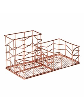 Wilko Desk Tray Rose Gold Wilko Desk Tray Rose Gold by Wilko