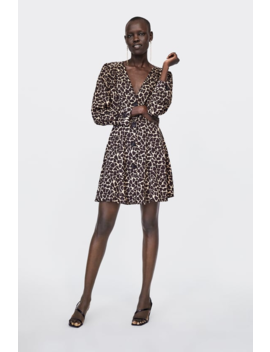 Animal Print Dress Collectionwoman Sale by Zara