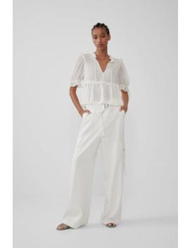 Camisa Plumeti Camisastrf by Zara