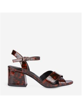 Multi Coloured Animal Print Heeled Sandals by Dorothy Perkins