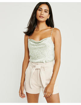 Cowl Neck Cami by Abercrombie & Fitch