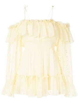 Wonders Ruffled Playsuit by Alice Mccall