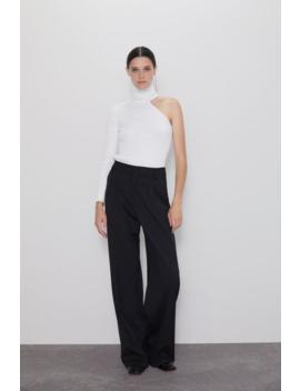 Asymmetric High Neck Sweater New Inwoman by Zara