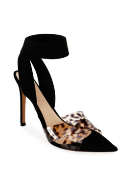 leopard-ankle-wrap-pumps by gianvito-rossi