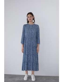 Dolga Obleka S Potiskom Glej Vse Obleke Ženska by Zara