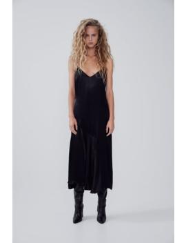 Satin Camisole Dress New Intrf by Zara