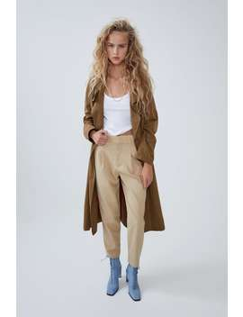 Darted Trousers New Intrf by Zara