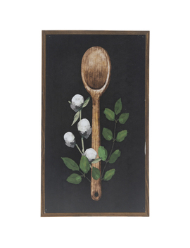 Floral Spoon Wood Wall Decor by Hobby Lobby