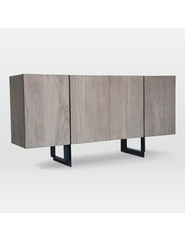Acacia + Iron Buffet by West Elm