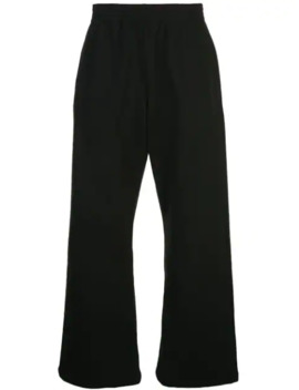 Plain Wide Leg Trousers by Martine Rose