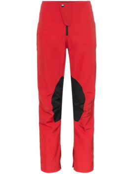 Speed Stripe Cropped Skinny Trousers by Martine Rose