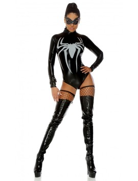 Sexy Black World Wide Web Costume by Ami Clubwear