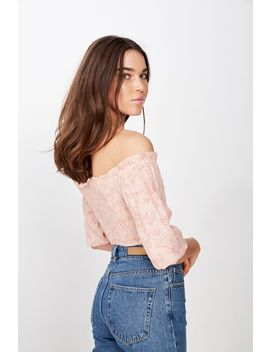 Tesse Off The Shoulder Blouse by Cotton On