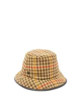 Tweed Bucket Hat by Gucci