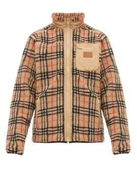 Westley Vintage Check Fleece Jacket by Burberry