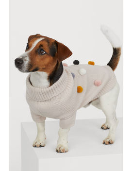 Dog Jumper With Pompoms by H&M