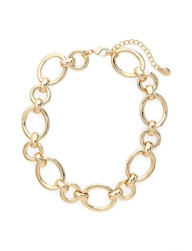Chain Link Collar Necklace by Stella + Ruby
