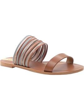 Samos Multi Strap Slide Sandal by Kaanas