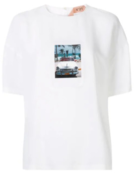 t-shirt-med-polaroid-tryk by nº21