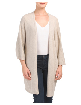 Made In Italy Cashmere Blend Ruana by Tj Maxx