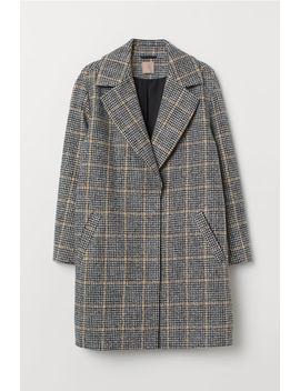 H&M+Filcowany Płaszcz by H&M