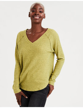 Ae Plush Long Sweatshirt by American Eagle Outfitters