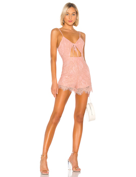 Trinity Cut Out Romper by Superdown