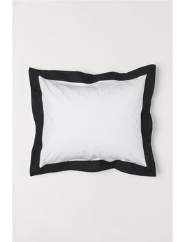 Oxford Style Pillowcase by H&M