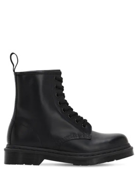 20 Mm Mono Smooth Leather Boots by Dr.Martens