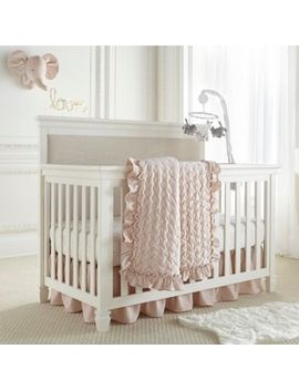 Levtex Baby® Heritage 4 Piece Crib Bedding Set In Blush by Bed Bath And Beyond
