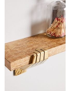 Hand Bracket Wall Shelf by Urban Outfitters