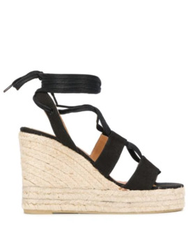 Boris Wedge Sandals by Castañer