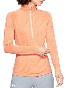 Under Armour Women's Tech Twist Print ½ Zip Long Sleeve Shirt by Under Armour