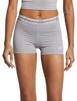 "Women's Nike Pro Heatherized 3"" Shorts by Nike"