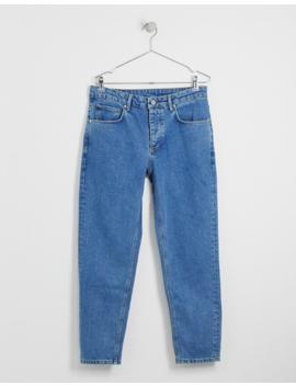 Asos Design Classic Rigid Jeans In Stone Wash Blue by Asos Design