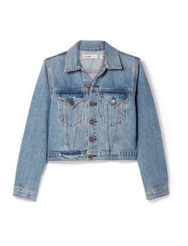 60s Shrunken Trucker Denim Jacket by Re/Done