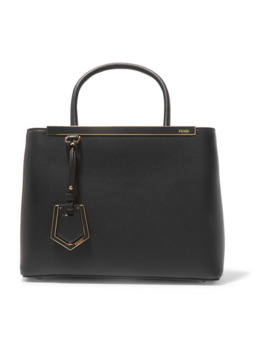 2 Jours Small Leather Tote by Fendi