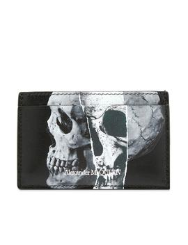 Alexander Mc Queen Fragment Skull Card Holder by Alexander Mc Queen
