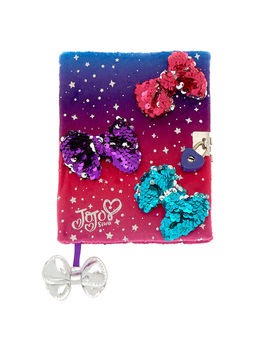Jo Jo Siwa™ Cosmic Sequin Bow Diary by Claire's