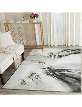 Abstract Charcoal Area Rug (Part Number: 099446469526) by Inspire Me! Home Décor