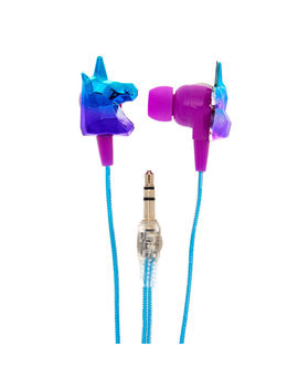 Geometric Unicorn Earbuds by Claire's