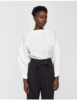 Victoria Mock Neck Blouse by Hidden Forest Market