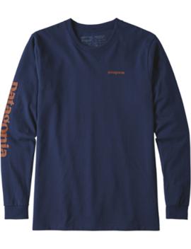 Text Logo Cotton/Poly Responsibili Tee T Shirt   Men's by Patagonia